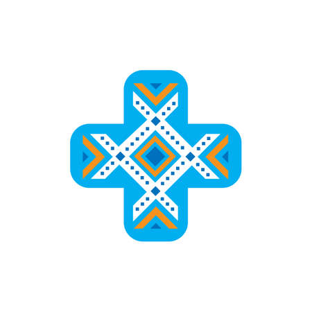 creative health care medical logo design logo vector template illustration