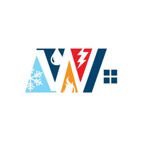 restoration home renovation logo design after disaster repair property maintenance