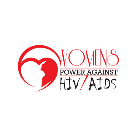 woman against HIVAIDS letter the support for World aids day and national HIVAIDS and aging awareness month concept  イラスト・ベクター素材