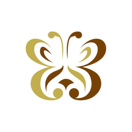 Beauty Butterflies Butterfly logo design template Vector symbol