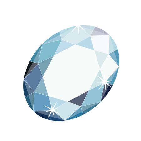 crystal blue stylish gemstone for your store or company