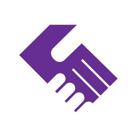 sign of teamwork and trust illustrations shake hand handshake logo vector the design meaning deal partnership friendship cooperation business