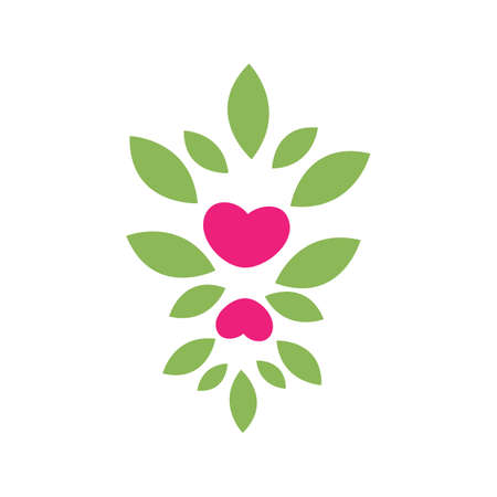 growing love  vector icon sign of a lover Keep Love strong ever illustration
