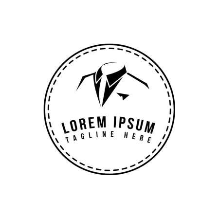 premium professional gentleman suit tuxedo  vector men clothing graphic concept