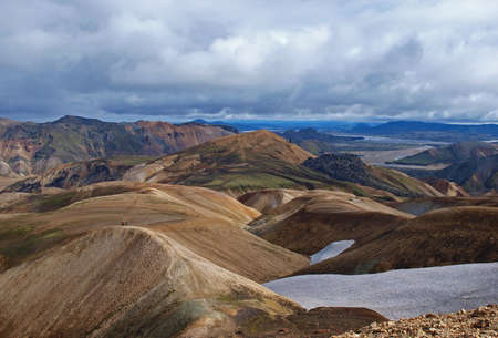 Landmannalaugar, Iceland          Stock Photo