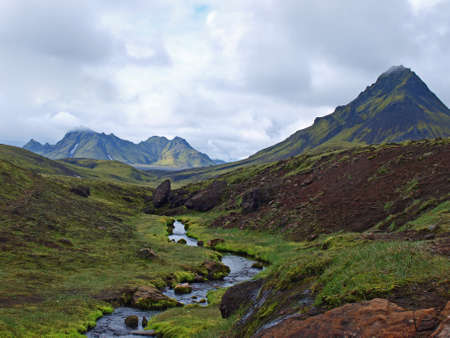 Laugavegur, Iceland, south east of the lake Alftavatn