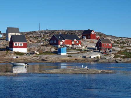Oqaatsut village, Greenland.