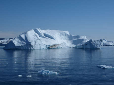 Iceberg, Greenland west coast between south of Ilulissat. Stock Photo