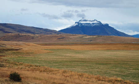 Fall colors in Patagonia, north of Puerto Natales.