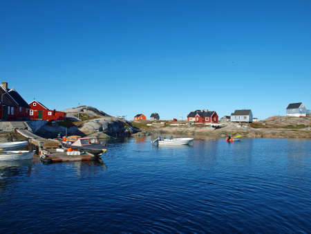 Oqaatsut is an old whaling settlement  in Rodebay north of Ilulissat.
