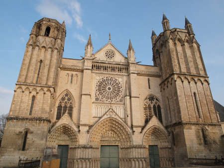 Cathedral Saint Peter, Poitiers, France.