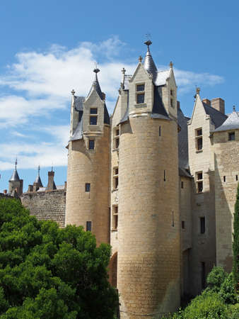Chateau montreuil bellay loire valley france