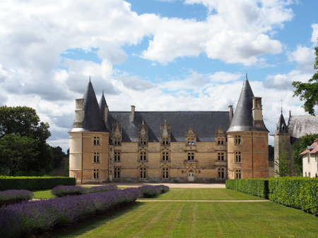 le roche: Roche castle was built between the15th and 18th century, and its gardens were designed by Le Notre.