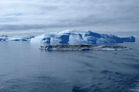 Iceberg south of Ilulissat, from the boat doing Greenland west coast ferry.