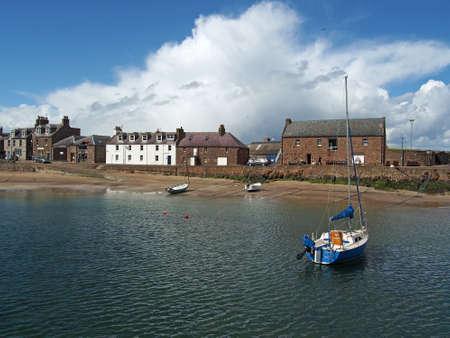 Stonehaven harbor, north east Scotland may 2013 Banco de Imagens