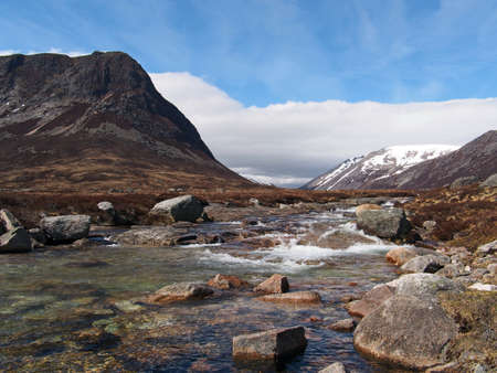 Devil point to the left and Carn a Mhaim to the right