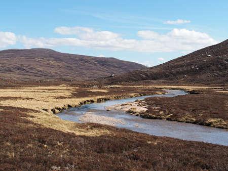 Glen Geusachan south of Cairn Toul
