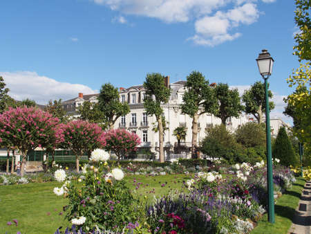 Angers, Mail garden is named after a game that was played there in the XVII century