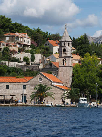 Cavtat, Croatia, august 2013, monastery of Our Lady of the Snow