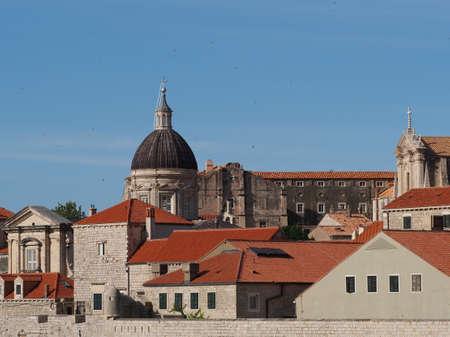Catedral na cidade hist