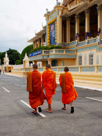 Monks in Cambodia