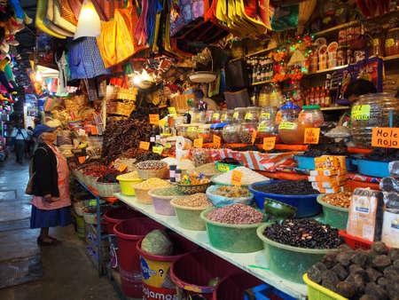Mercados locales en Oaxaca, México