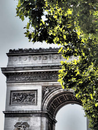 Arc de Triomphe, Paris France Reklamní fotografie