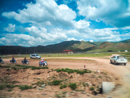 Beautiful landscapes of Gorkhi-Terelj National Park, Mongolia