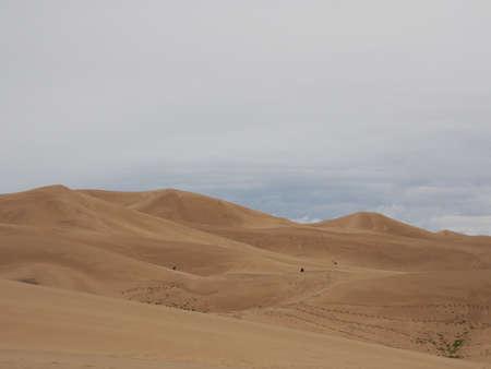 Gobi Desert, Mongolia at Gobi Gurvansaikan Park which translates to Three Beauties of the Gobi Stockfoto