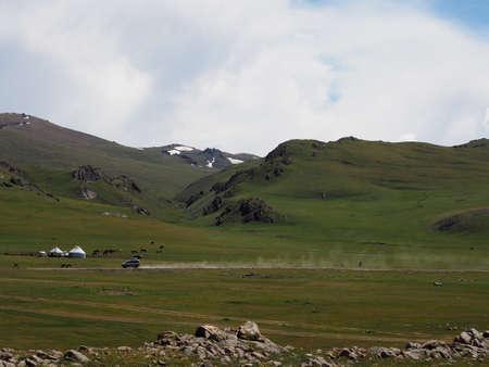 Son Kul Lake, Kyrgyzstan