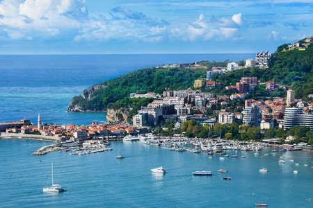 beautiful Adriatic Sea coast, Budva, Montenegro