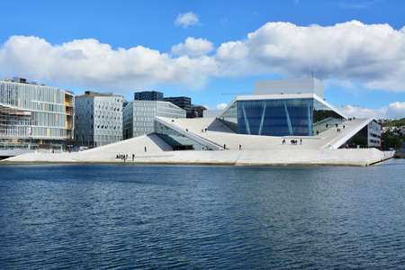 Building of the opera in Oslo
