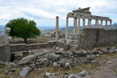 Pergamon Ancient City in ?zmir Turkey