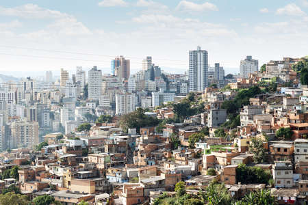 View of Morro do Papagaio at Belo Horizonte, Minas Gerais, Brazil Stock Photo