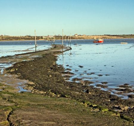 Kent seaside view  Stock Photo