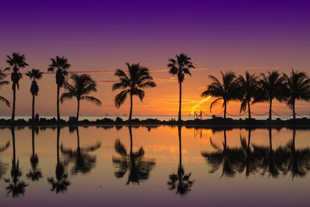 Sunrise in Miami 写真素材