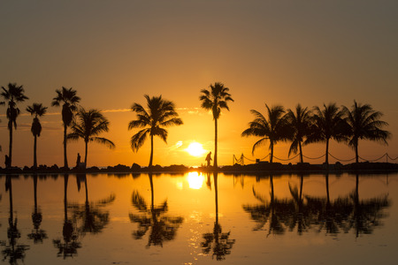 Sunrise in Miami Reklamní fotografie