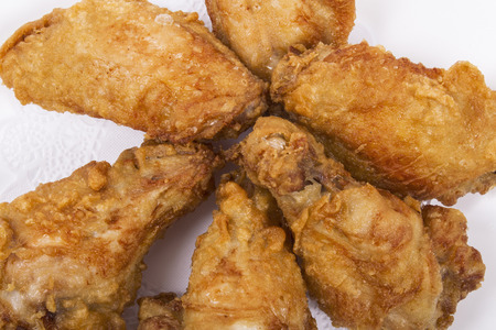 meat and alternatives: Fried Wings picture for use in restaurants