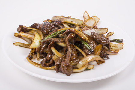 mongolian: Pictures of Mongolian Beef meal