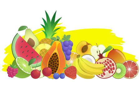 fruits 向量圖像