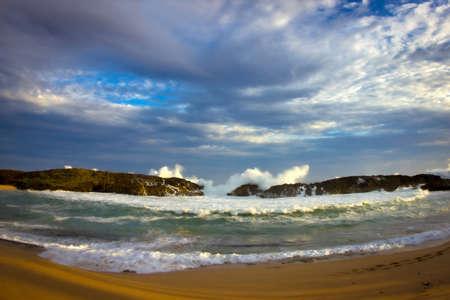 The famous Marchiquita beach, Manati, Puerto Rico.