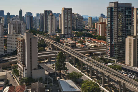 view of the Brooklin neighborhood in Sao Paulo