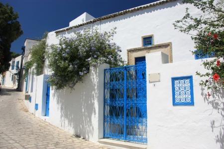 iuml: Sidi Bou Said Stock Photo