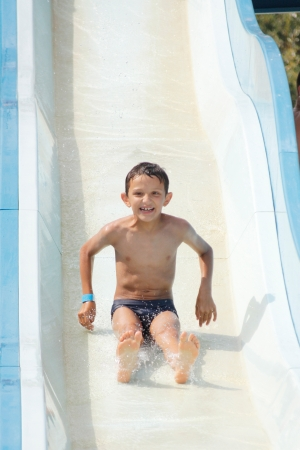 child in the pool photo