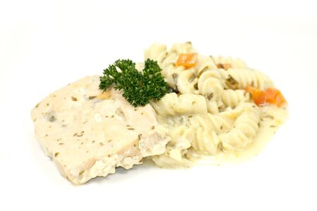 eacute: Salmon and Fusilli