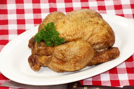 eacute: smoked chicken