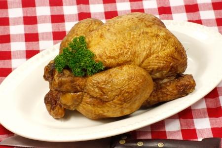 smoked chicken photo