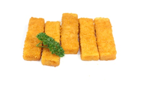 Breaded fish photo