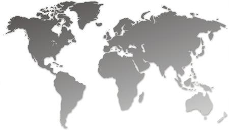 planisphere: mappa del mondo
