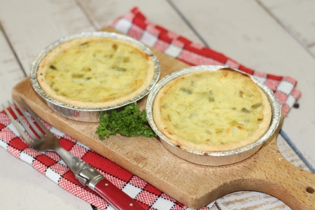 quiche Stock Photo